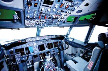 Limpeza interna de Aeronave
